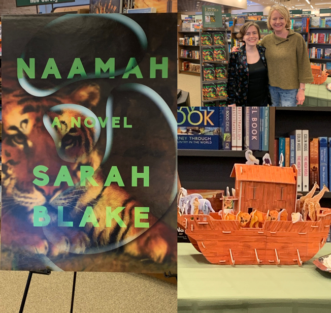 Interview and Review of The Haunting and Dream-Like Naamah by @blakesarah via @MConnollyAuthor #interview #review
